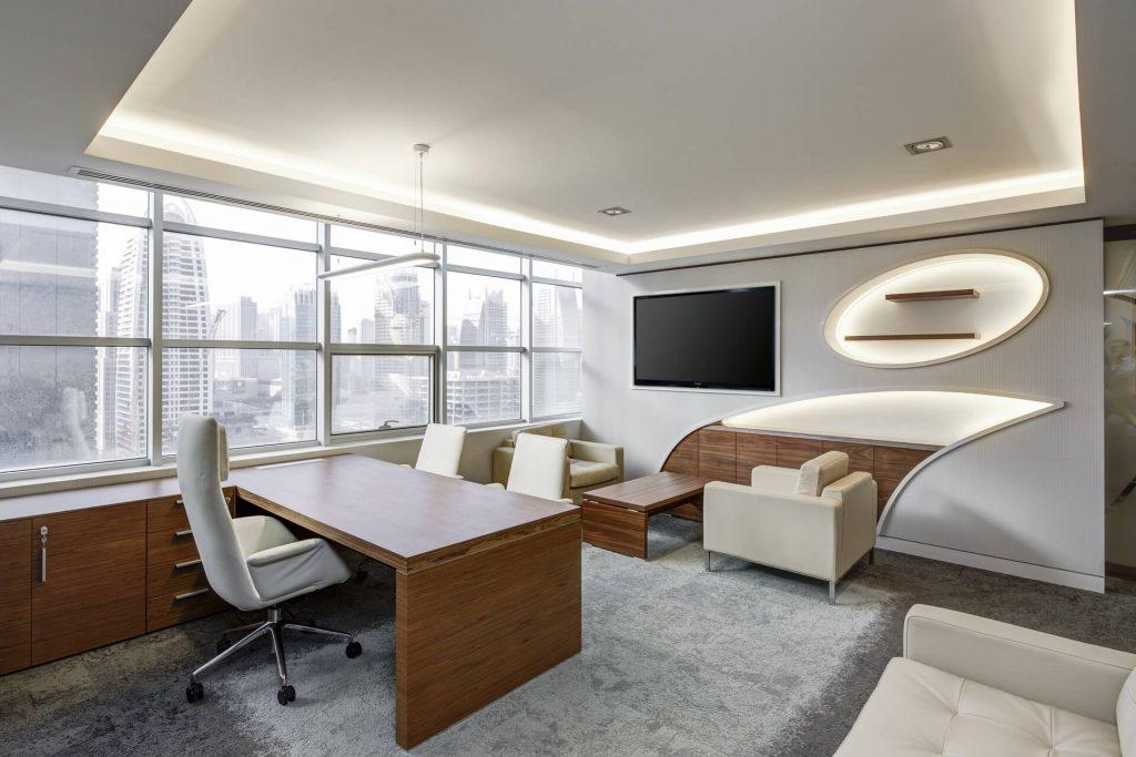 Oficina iluminación led